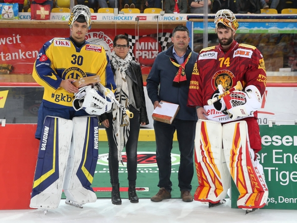 Bestplayer SCL Tigers - HC Davos
