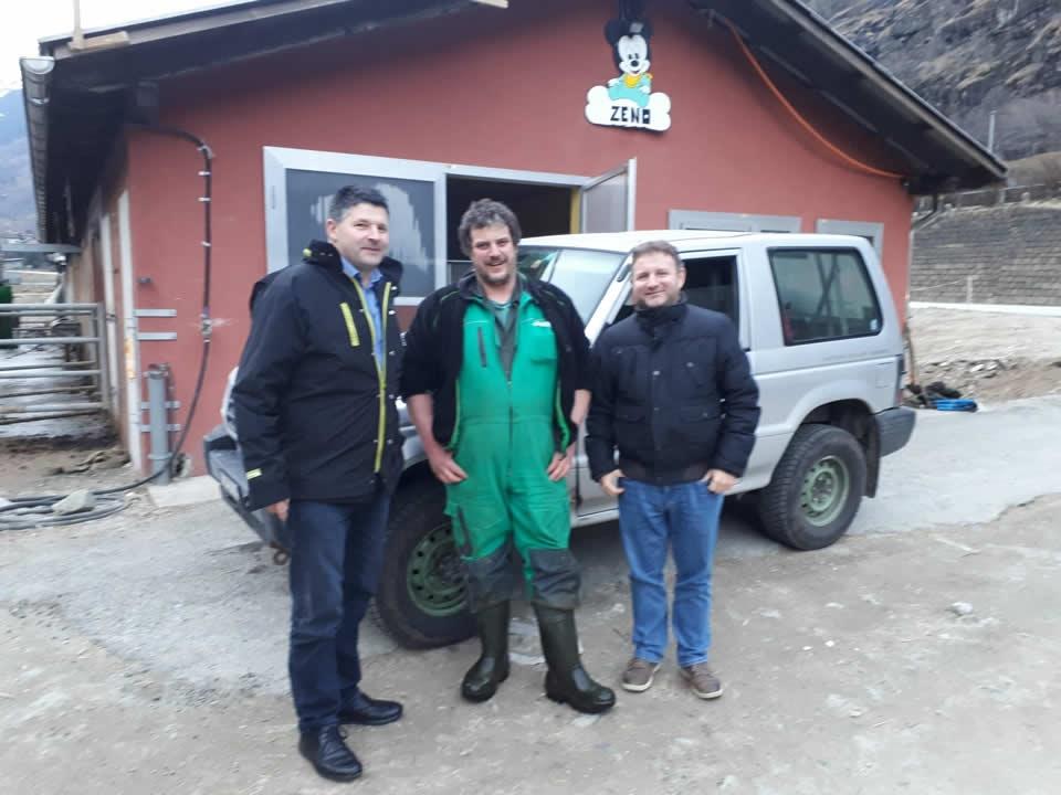 Berner Präsident besucht Tessiner Presi