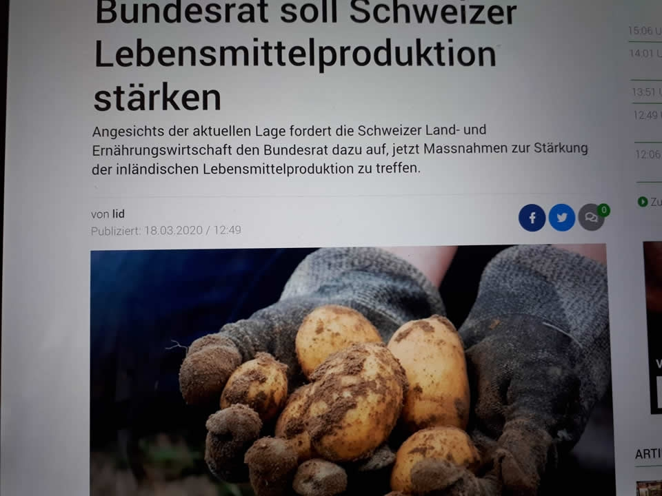 Die Land- und Ernährungswirtschaft ist bereit